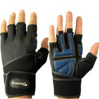 Fitness gloves half finger gloves sports dumbbell weight lifting wrist support gloves