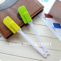 Free Shipping Silicone spoon spatula silicone  cake tools  Butter spreader  Children Tools