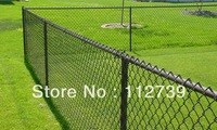 Sports Court  Chain Link Fence Supplier, 60mm Opening, Wire Diameter 3.2mm, Wrapped Type On The Top Side