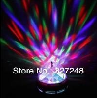 zhongshan city guzhen 3W rgb led full color rotating lamp Mini Party Light Dance Lamp Holiday Light Auto Rotating E27 base Bulbs