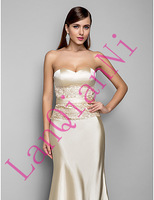 Free Shipping Trumpet/Mermaid Sweetheart Floor-length Chiffon Evening Dress