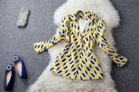 2013 clothes print fashion suit jacket