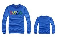 Fashion SWAG Sweatshirt Men Sports Pullover Winter Cotton Crewneck Hip Hop Men's Clothing Free Shipping