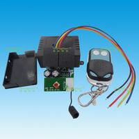 Dc motor 12v wireless remote control switch metal ab key remote control