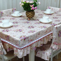 Professional customize rustic cloth dining table cloth tablecloth table sets of tables set chair cover cushion coffee table