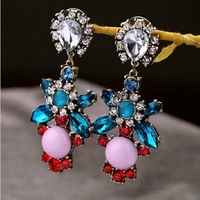 Latest Jewelry Luxury Folk Style Drop Earring free shipping