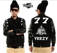 New Style Pyrex LES(ART)ISTS  YEEZY77 men women baseball clothes jackets