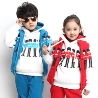Autumn children's clothing female child autumn 2013 male child autumn child set winter sweatshirt piece set