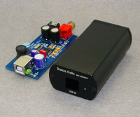 PCM2706 Completed in Case USB DAC Coaxial Headphone Amplifier WLX