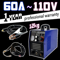 60A air plasma cutter 110V 12kg with ag-60 plasma cutting torch