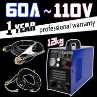New 60A air plasma cutter 110V 12kg with ag-60 plasma cutting torch