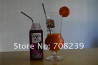 stainless steel solid beverage drinking straws