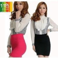hot selling 50pcs candy skirt stretch skirt high pockets hip skirt Fedex free shipping