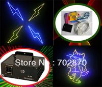 2000mW 2W FULL COLOR RGB ILDA DMX DJ Stage Laser Light Disco 20KKPS Scanner with ishow software as free gift!