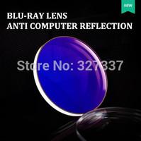1.56 thin aspheric UV400 for computer use anti radiation resin optical prescription lenses for myopia/hyperopia/presbyopia