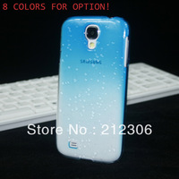 On sale! MOQ:1PCS  Silicon   Waterdrop   Raindrops  Case for Samsung Galaxy S4 SIV i9500 9500  free shipping