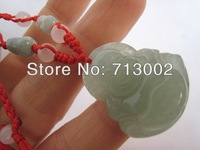 Burnish  NATURE JADE Buddha Pendant Lucky Amulet