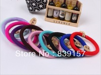 Elastic hair bands hair accessory hair rope  headband brief black color hairbands DIY necessity cheap and best quality