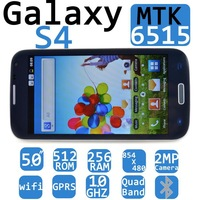 galaxy phone1:1 5 inch s4 phone i9500 i 9500 mtk6515 android 4.2 dual camera , android smart mobile 854*480 wifi Espanol italian