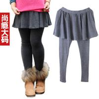 FREE SHIPPING Sugar sugar plus size clothing mm pants legging skirt plus size pants mm summer slim hip skirt pants 593