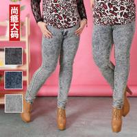 Sugar sugar plus size clothing plus size jeans pants mm summer jeans plus size skinny pants 813