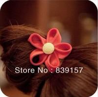 New arrival flower  design Elastic hair bands hair accessory hair rope  headband elastic ponytail holder