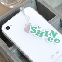 KPOP SHINee Korean Exquisite 3.5mm Plastic Dust Plug For Iphone & Samsung FCS036
