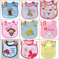 min. order 2pcs!!Cotton Baby bib Infant saliva towels carter's Baby Waterproof bib Carter Baby wear  free shipping