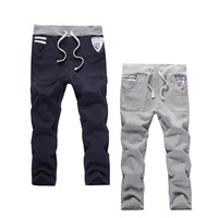 2013 Autumn and Spring Children's clothing male child sports pants trousers