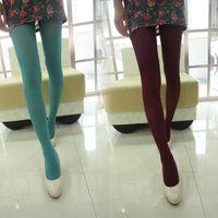 Thin pantyhose socks multicolour pantyhose