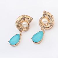 Free shipping Fashion personality snail stud earring