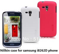 Nillkin case for samsung I8262D phone frosted shield case free shipping