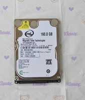 Free shipping Original  160G 2.5Inch SATA serial notebook hard drive MD01600 5400/8M