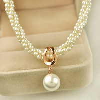 perolas Elegant elegant pearl necklace female fashion short design chain accessories jewelry gift g5307  perla