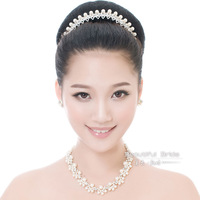 perolas Bride accessories pearl married necklace piece set chain romantic wedding jewelry wedding accessories  perla