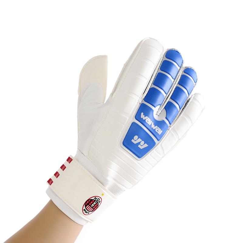 2014 New Freeshipping Bola De Futebol 907 Top Goalkeeper Gloves Professional Football Finger Band Slip-resistant Wear-resistant(China (Mainland))