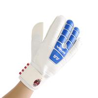 2014 New Freeshipping Bola De Futebol 907 Top Goalkeeper Gloves Professional Football Finger Band Slip-resistant Wear-resistant