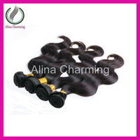 Noble Ella hair products unprocessed malaysian virgin body wave 5 bundles cheap weave online sale free shipping 3.5oz/pcs