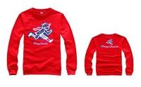 Fashion Hip Hop Sweatshirt Play Cloths Pullover Cotton Long Sleeve Crewneck Winter Sports Men Clothes