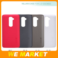 Brand New Nillkin Super Frosted Shield Case For LG G2 D802 Pit face design with screen films + retail package