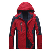 2013 New Hot Sport Brand Men Casual Hiking / Camping Jackets Size L-4XL Waterproof & Windproof Outdoor Coat LCA9918