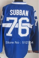 Free Shipping,Wholesale Ice Hockey Jersey, #76 P.K. Subban Hockey jersey,Embroidery logos,size 48-56,mix order