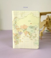 World map passport holder, passport bag , travelling bag 1pc