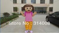 Hot Sales Dora caroon Costume dora Mascot Costume