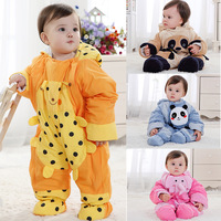 Baby bodysuit baby clothes romper newborn 100% cotton romper long-sleeve 0-1 year old winter dresses
