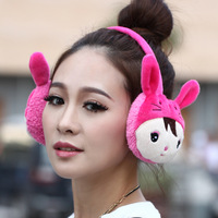 Earmuffs cute earmuffs wool ear package plush ear thermal lovers