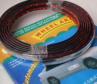 Free shipping, Car wheel self-adhesive type soft wheel arc decoration wheel eyebrow light bar refires wheel arc 30mm