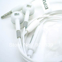 Free Shipping high quality MI brand Stereo earphone with mic for android mobile phone