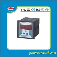 Free shipping ! digital meter panel meter  single phase  amp meter  digital meter size 72X72