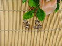Original design vintage royal stud earring birthday gift elegant gentlewomen stud earring